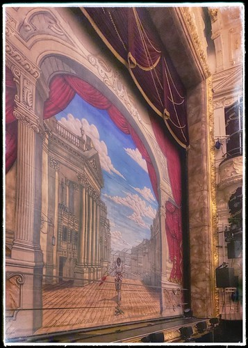 Safety Curtain - Theatre Royal, Newcastle upon Tyne