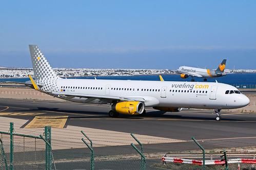Vueling / EC-MJR / A321-231(W)