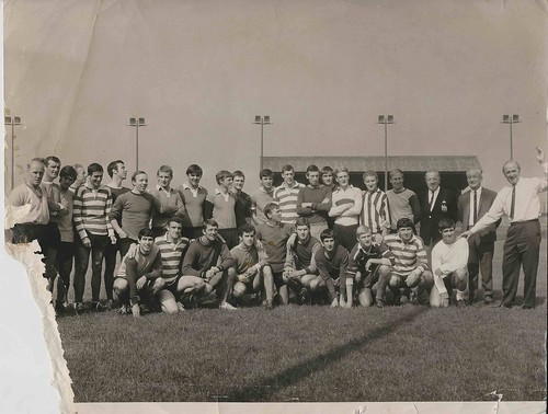 Original Press Photograph of Manchester United August 1967
