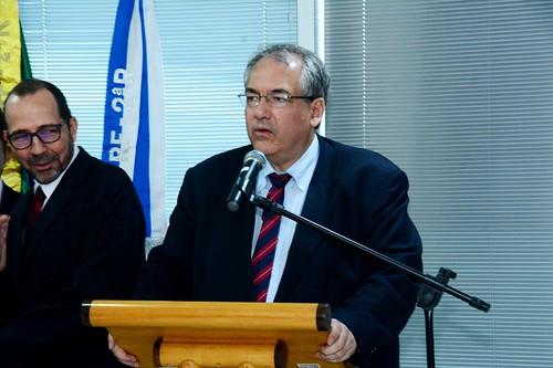 O Desembargador Federal André Fontes falou da satisfação de cumprir a promessa de trazer de volta à Itaboraí a Subseção Judiciária Federal, facilitando toda a população (1)