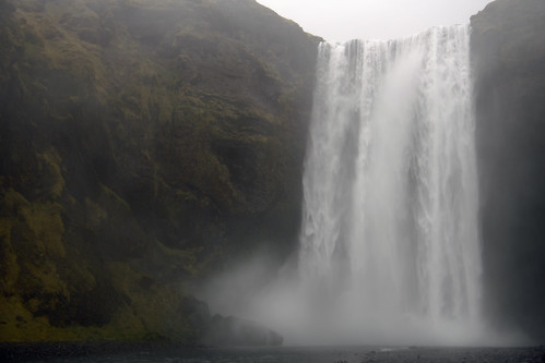 The dreaming (Skógafoss on the Skógá River in the South of Iceland)  -  (Selected by GETTY IMAGES)