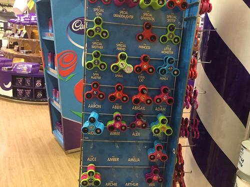 All Spinner in Cadburys