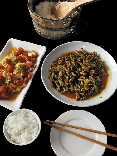 China - Sichuan - Chengdu - Vegetarian´s Hall Of The Wenshu Monastery - Dinner - 1d