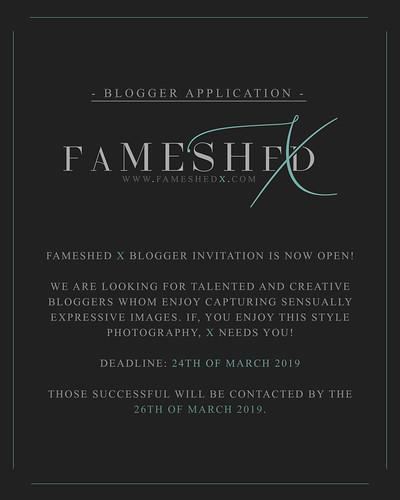 [FaMESHed X] Blogger Invitation CLOSED!