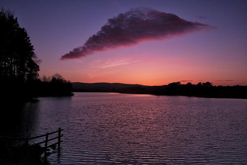 Knapps Loch sunset