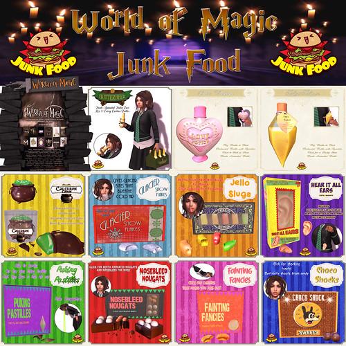 Junk Food - Wizarding Candies & Tricks