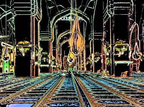 India - Telangana - Hyderabad - Mecca Masjid - 24gg