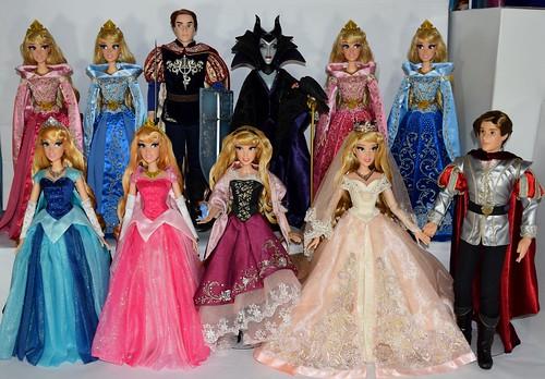 Sleeping Beauty LE 17 Inch Dolls - Complete Set - 2014-2019