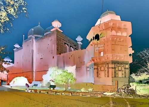 India - Uttar Pradesh - Agra - Taj Mahal - 3g