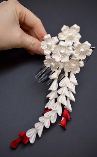 Cherry blossom wedding design.