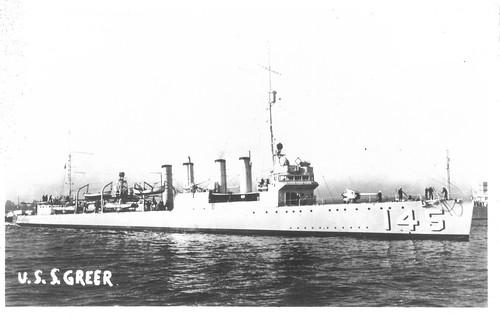 USS Greer (DD-145), Wickes-class Destroyer