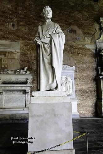 Leonardo Fibonacci, Camposanto Monumentale, Campo dei Miracoli, Pisa, Italy