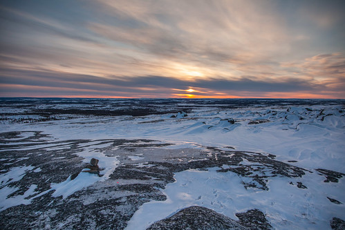 Canada |  Kuujjuaq • Sunset over Inuit Lands
