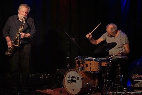 Evan Parker: sax / Paul Lytton: drums