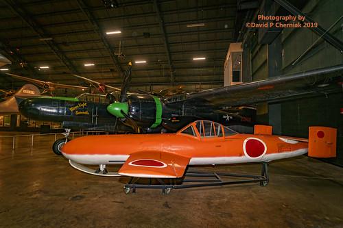 Northrop P-61C Black Widow Moon Light Serenade - Yokosuka MXY7-K1 Ohka USAF Museum (9039) Wright-Patterson AFB, OH 3-9-2019.