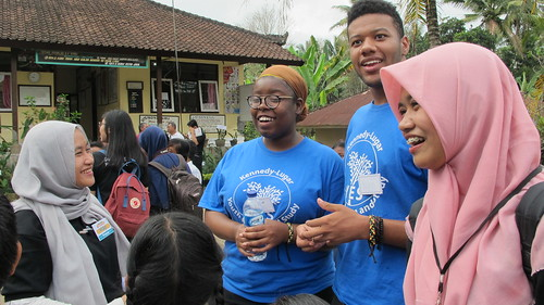(INA) Brantley, Keauna, and Cherry, Jakobe - Volunteering at Local Elementary School