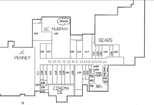 Logan Valley Mall Fire Map