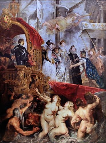 IMG_4204B Pierre Paul Rubens. 1577-1640.    Cycle de la Vie de Marie de Médicis.  Cycle of the Life of Marie de Medici Louvre.