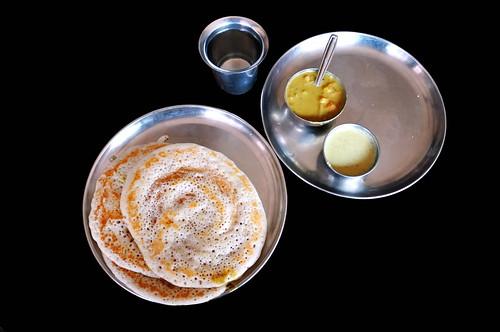 India - Karnataka -  Halebid - Restaurant - 1d