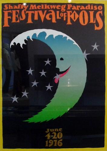 Festival of Fools, Ramses Shaffy - Ontwerp: Gielijn Escher - 1976