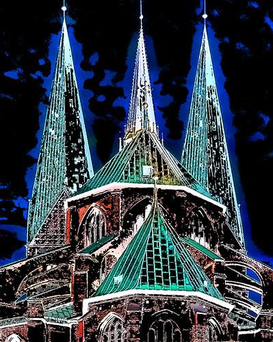 Germany - Lübeck - St. Mary´s Church - 777dd