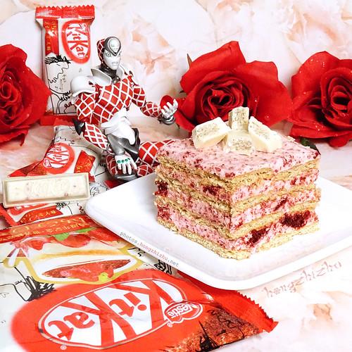 Red Velvet Icebox Cake