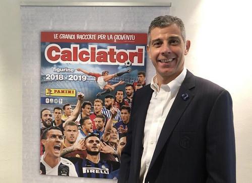 Presentata la collezione Panini Calciatori 2018/19