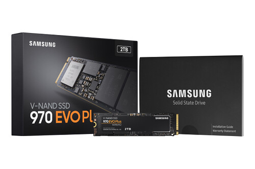 Samsung's new 970 Evo Plus SSD delivers read and write speeds in excess of 3GB/s