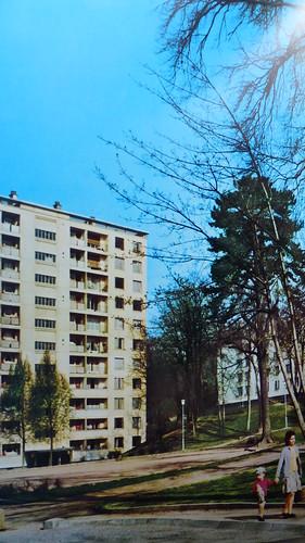 (69) FONTENAY SUR SAONE en 1959 - Norenchal avec 292 appartements... les archives du patrimoine de l'Opac du Rhône -