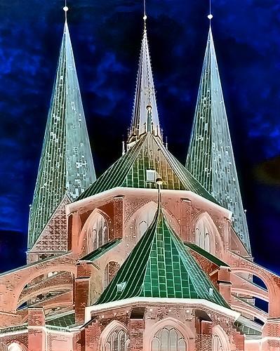 Germany - Lübeck - St. Marien - 777b