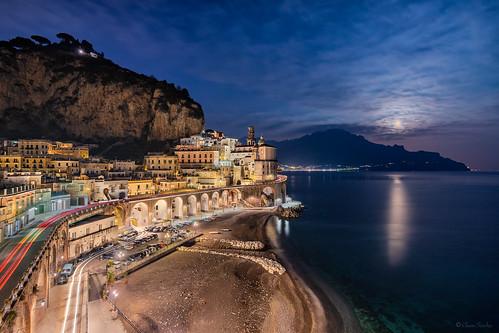 Moon Nights || Noches de Luna (Atrani, Amalfi Coast; Provincia di Salerno. Campania. Italy)