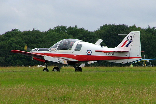 G-WINI   (XX546) Scottish Aviation SA.120 T.1 Bulldog [BH120/238] (Ex Royal Air Force) Kemble~G 11/07/2004