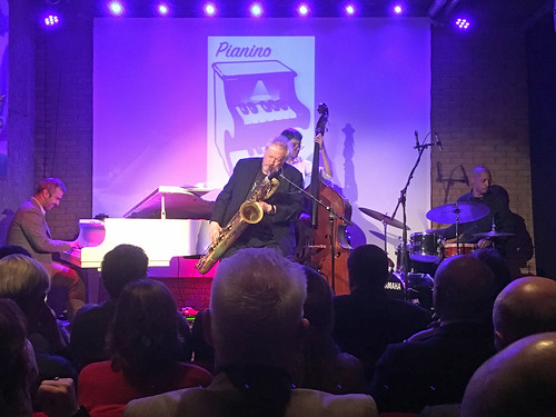 George Tsolis Trio & Ronnie Cuber, MOOOF, The Hague 4 March 2019