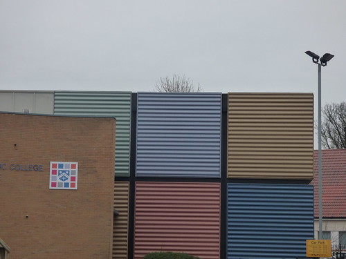 Rubik's Cubes at Bishop Challoner Catholic College & Sports Centre - Institute Road, Kings Heath