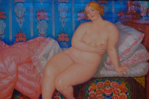 XE3F4862 - A Beauty (1915), By Boris Kustodiev
