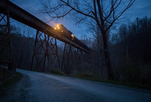 Blue Hour at The Bridge