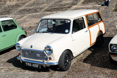 1968 Austin Mini Traveller YMO415F  Brooklands Mini Day March 2019