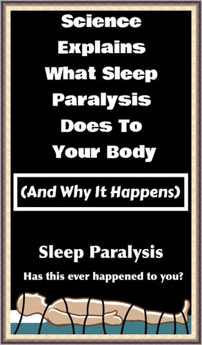 Science Explains What Sleep Paralysis Does To Your Body (And Why It Happens)