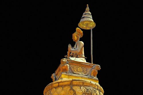 Nepal - Bhaktapur - King Bhupatindra Malla´s Column - 234e