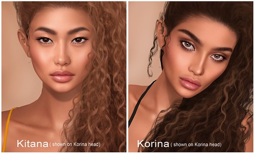 Kitana & Korina for Lelutka!
