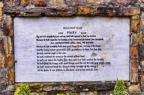Our Lady Of Lourdes Shrine - Carfin Glasgow Scotland -  5th March 2019