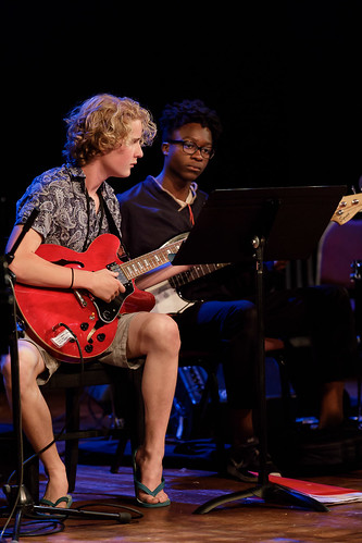 Dan Balmer workshop combo performance at 2018 Jazz Port Townsend