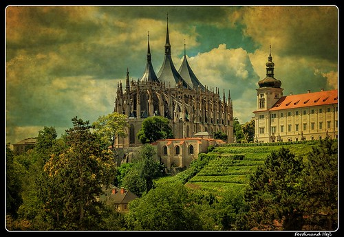 Kutná Hora_Chrám Svaté Barbory_St. Barbara's Church_ UNESCO world heritage site_Cantral Bohemia_Czechia