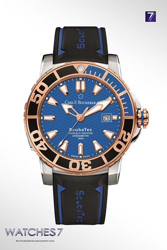 Carl F. Bucherer – Patravi ScubaTec Steel and 18 k Rose Gold 44.6mm