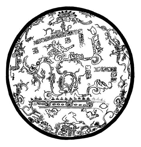 Maya Cosmos Tripod Plate – sketch