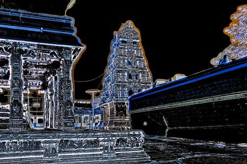 India - Tamil Nadu - Kanchipuram - Kamakshi Amman Temple - 151dd