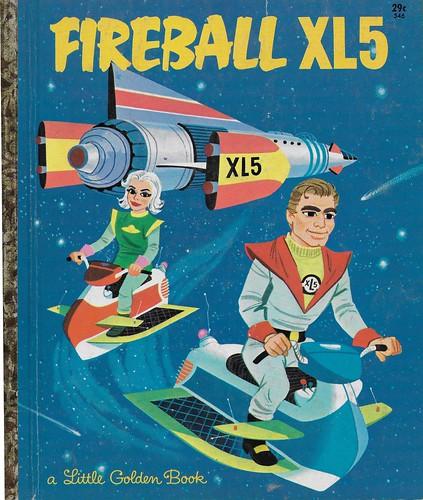 Fireball XL5 ( Little Golden Book 1964 )