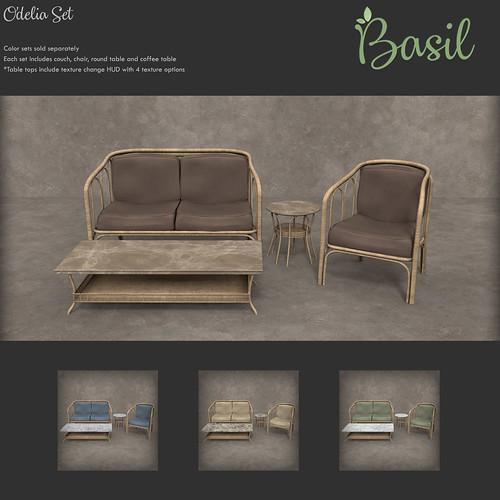 Basil - Odelia Set