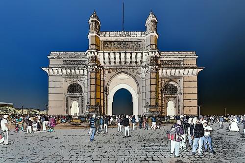 India - Maharashtra - Mumbai - Gateway Of India - 52g