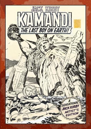 Jack-Kirby-Kamandi-The-Last-Boy-On-Earth-Artists-Edition-cover